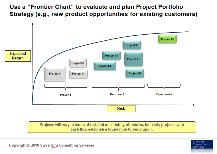 Frontier Chart and Project Portfolio Strategy